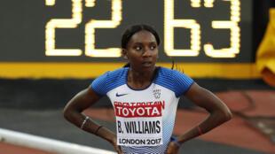 احرزت العداءة البريطانية بيانكا وليامس لقبا قاريا في سباق التتابع 100 م