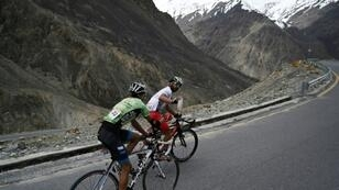 Some 88 cyclists, including two teams from Afghanistan and Sri Lanka as well as solo participants from Spain and Switzerland, took part in Pakistan's Tour de Khunjerab