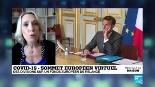 2020-04-23 18:01 Divisions sur un fonds de relance lors du sommet européen virtuel sur le Covid-19