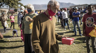 Despite an unprecedented $26 billion virus relief package and food parcels, many South Africans have struggled to get by