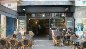 Le Bistrot syrien, dans le Xe arrondissement de Paris.