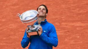 Rafael Nadal, une onzième fois vainqueur en finale de Roland-Garros.