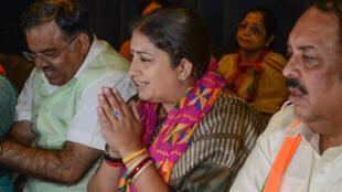 Smriti Irani, l'une des élues du Parlement indien.