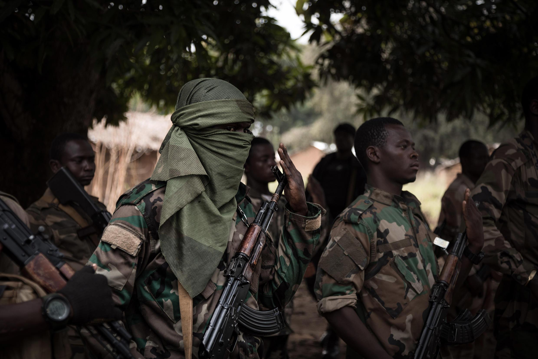 centrafrique - soldats