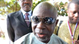 Ousainou Darboe, le leader du parti d'opposition UDP, en octobre 2011.