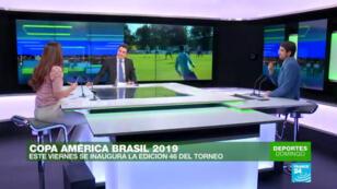 En Deportes Domingo analizamos cómo llegan las selecciones a la Copa América Brasil 2019 y quiénes se alzan como favoritas a obtener el título.