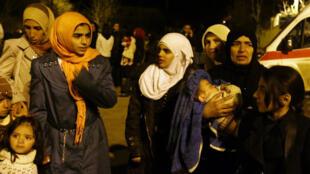 Des dizaines de camions remplis de nourriture ont pu pénétrer dans la ville de Madaya.