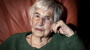 Born in Sarrelouis in 1924, Esther Bejarano was deported to the Nazi extermination camp in April 1943, before being transferred to another camp in Ravensbrueck in November of that same year