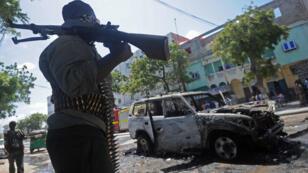 La Somalie est le théâtre régulier d'attaques-suicides à la voitiure piégée.