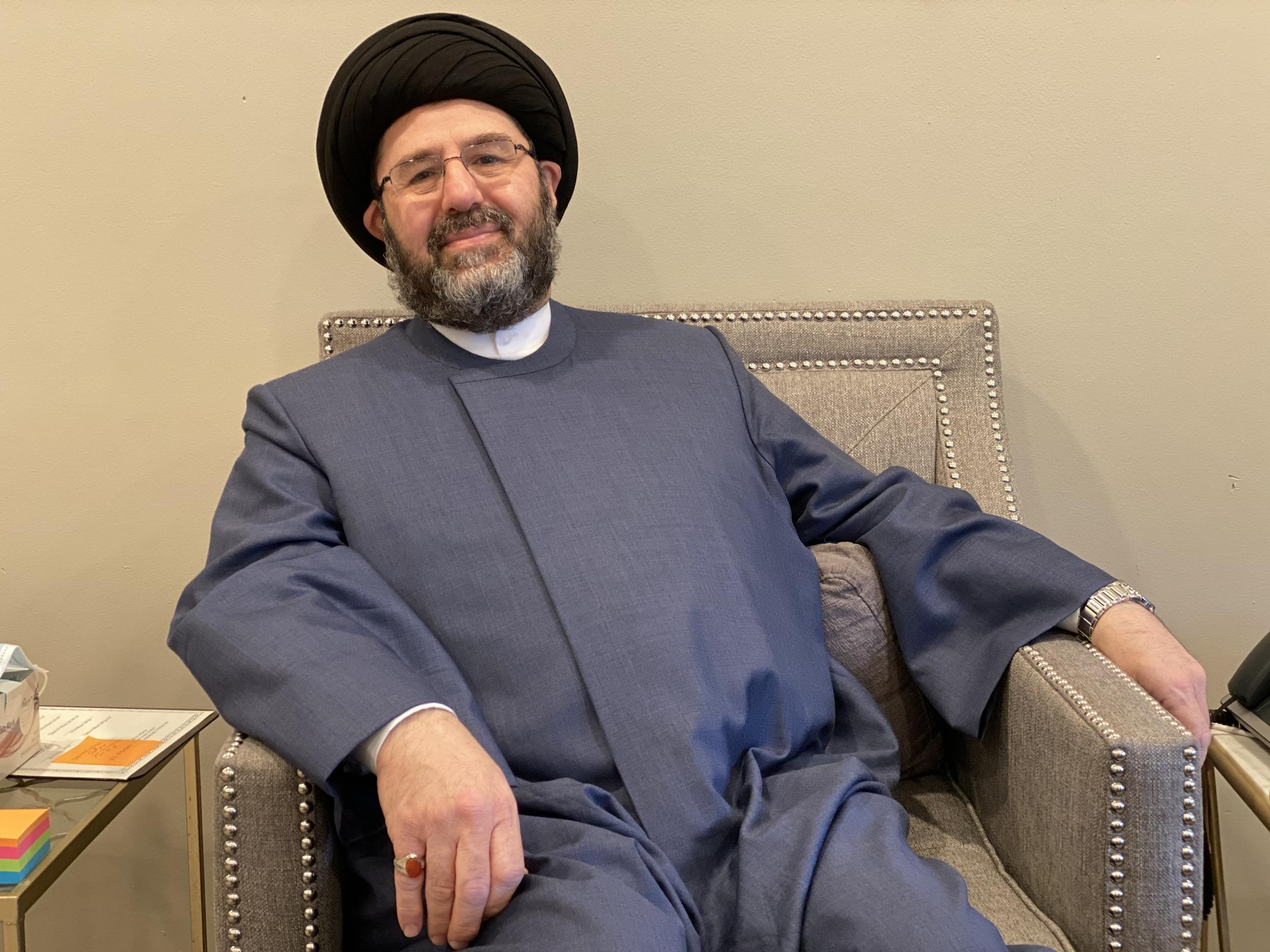 """""""Knowing the stakes... I think most Muslims are fully aware of the consequences of not voting,"""" says Imam Hassan Qazwini, founder of the Islamic Institute of America in Dearborn Heights."""