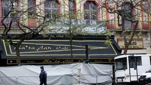مسرح الباتاكلان في باريس حيث سقط أكبر عدد من القتلى في الاعتداءات
