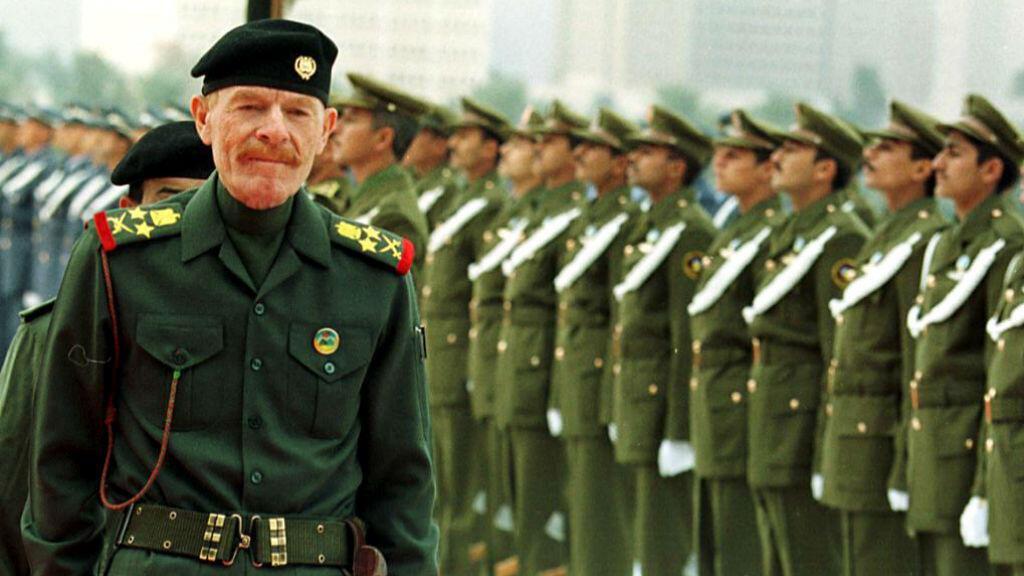 Izzat el Douri, le 1er décembre 1999, à Bagdad.