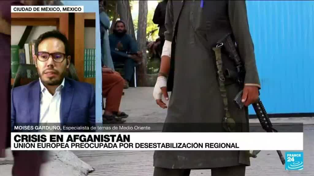 """2021-08-16 22:04 Moisés Garduño: """"Hay que esperar a ver cuál va a ser el guion político de los talibanes"""""""