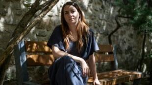La metteuse en scène Alexandra Badea au 73e festival d'Avignon, le 11 juillet 2019