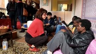مركز لاستقبال المهاجرين في فرنسا