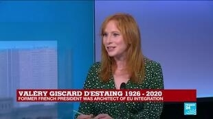 2020-12-03 14:05 Former French president Giscard d'Estaing 'was always a voice speaking for more Europe'