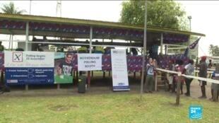 Les électeurs de Bougainville ont deux semaines pour déposer leur bulletin de vote dans les urnes.