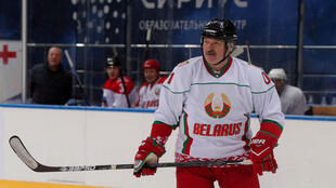 Belarus hockey Lukashenko