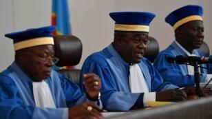 La Cour constitutionnelle congolaise, le 15 janvier 2019 à Kinshasa.
