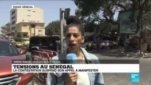 2021-03-09 13:31 Tensions au Sénégal : la contestation suspend son appel à manifester