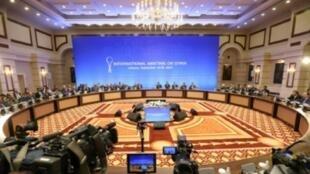 جولة محادثات في أستانة حول سوريا في 15 أيلول/سبتمبر 2017