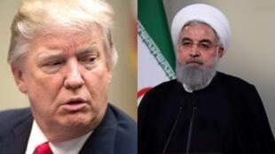 روحاني / ترامب