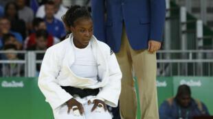 Gévrise Emane (judo, - de 70 kg) ne ramènera pas de médaille de Rio.