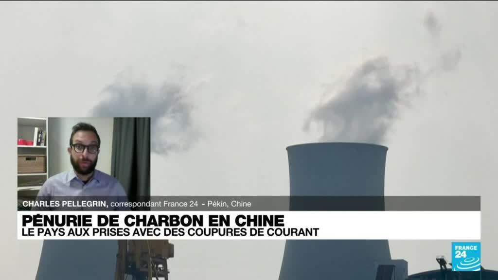 2021-09-28 16:11 Pénurie de charbon en Chine : le pays aux prises avec des coupures de courant