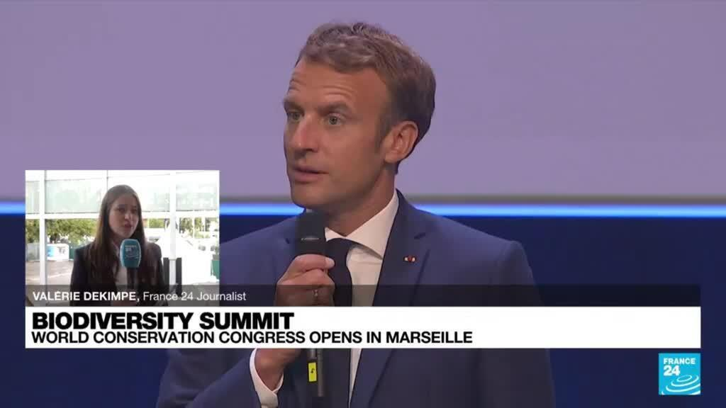 2021-09-03 18:22 President Macron, an environmental leaders as world conservation congress opens in Marseille?