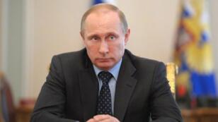 - الرئيس الروسي فلاديمير بوتين