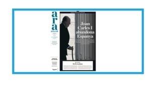 L'ancien roi d'Espagne Juan Carlos I