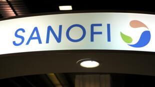 Le logo du groupe Sanofi