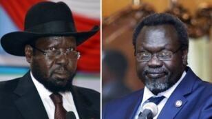 رئيس جنوب السودان ونائبه مشار كير