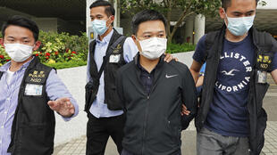 Hong Kong journalists arrest Apple Daily