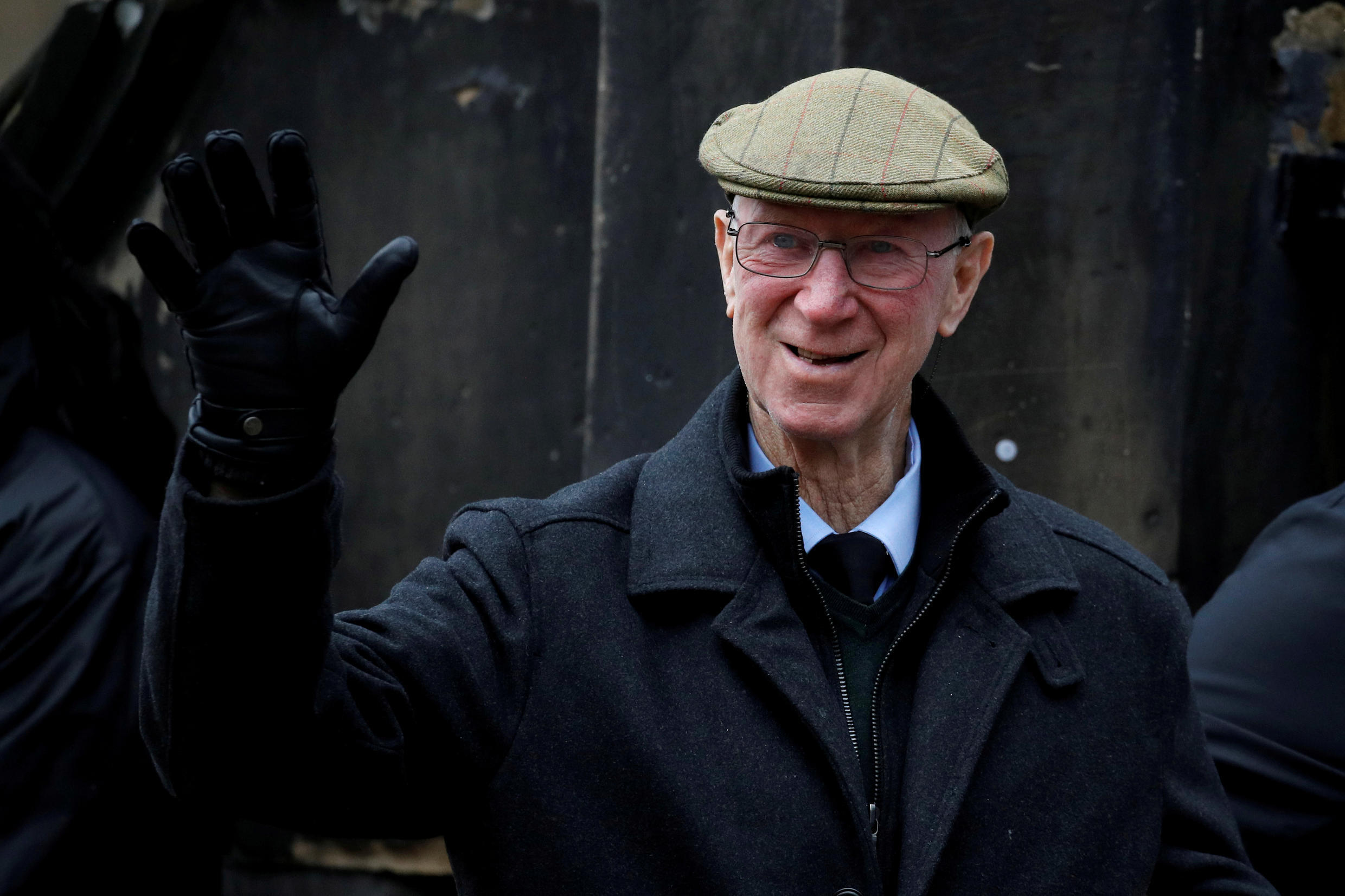 File photo of former England World Cup football hero and Ireland manager Jack Charlton, March 4 2019.