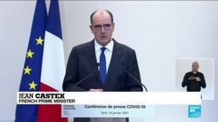 2021-01-15 11:10 France tightens coronavirus border controls, imposes earlier curfew