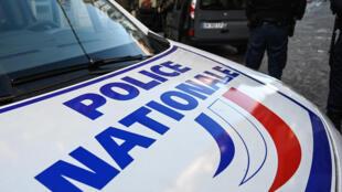 La police nationale à Lille le 03 décembre 2019