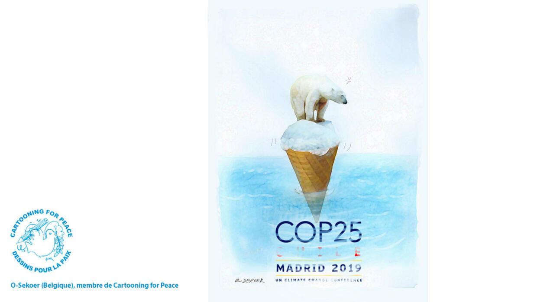 L'actu en dessin : les jeunes veulent dénoncer la surconsommation à la COP25