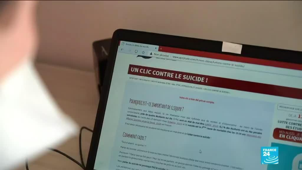 2021-01-26 12:10 French student groups try to tackle Covid-19 pandemic's heavy toll on mental health: F24 report