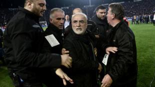 Le bouillant président du PAOK a écopé d'une suspension de trois ans.