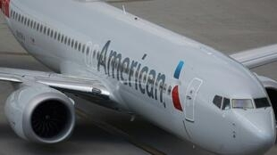 An American Airlines Boeing 737 Max 8 arrives in Miami, Florida from Washington Ronald Reagan National Airport on March 12, 2019 in Miami, Florida