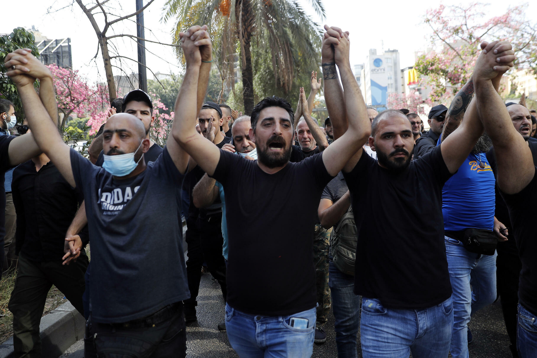 Manifestation Beyrouth 14/10/2021