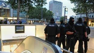 قوات من الأمن الألماني