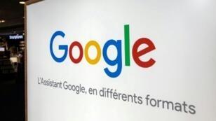 Le logo de Google le 3 août 2018 à Lille en France