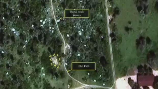 Image satellite prise dans la région de Bujumbura après le 11 décembre 2015