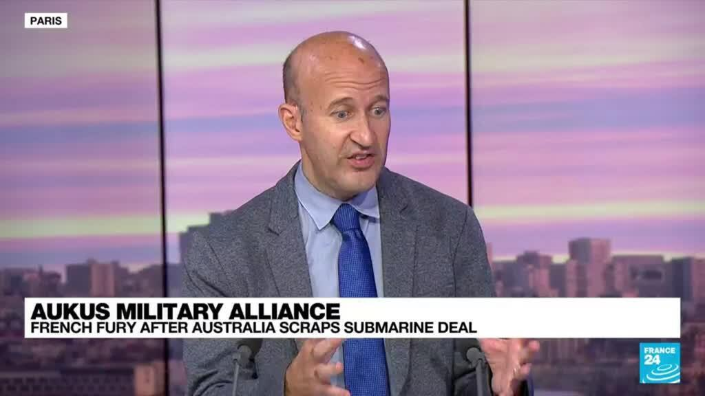 2021-09-17 09:32 AUKUS military alliance: Livid France pushed-out of a multi-billion euro submarine deal