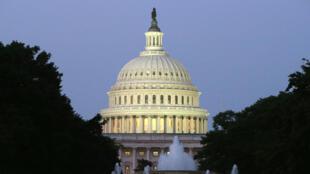 Le dôme du Capitole, qui abrite le Sénat américain.