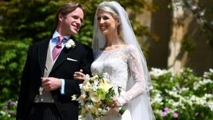 Lady Gabriella Windsor married financier Thomas Kingston in Saint George's Chapel at the historic Windsor castle