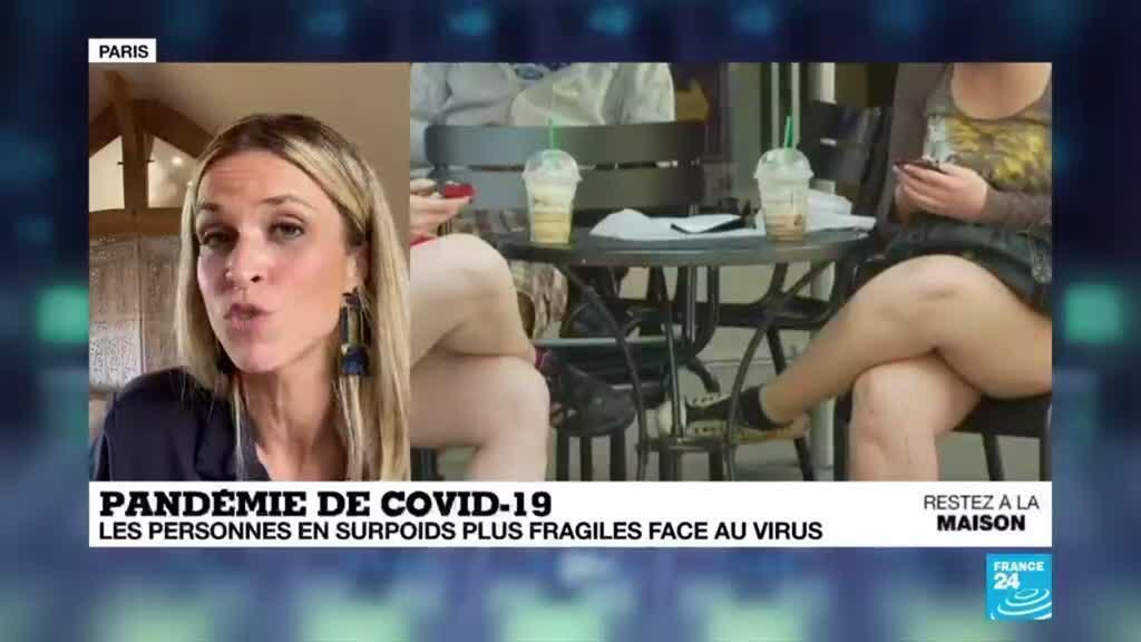 2020-04-16 16:03 Pandémie de Covid-19 : Les personnes en surpoids plus vulnérables
