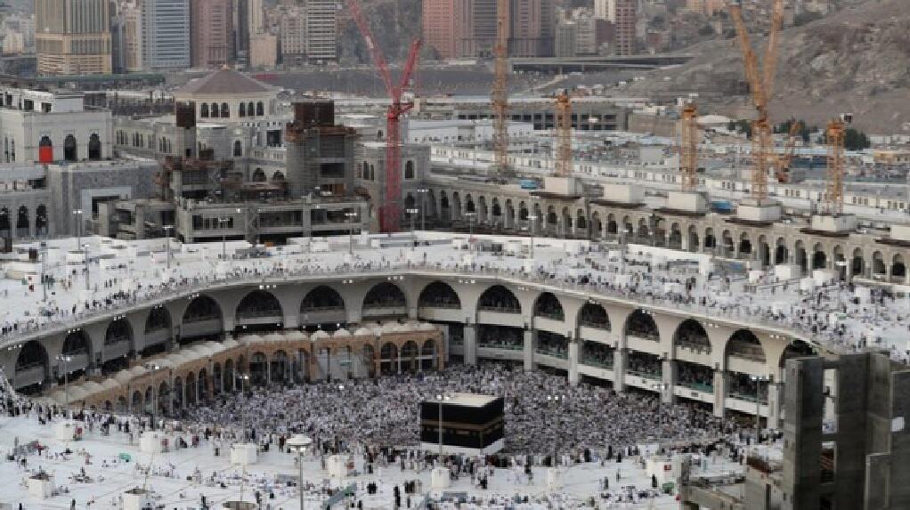 المسجد الحرام بمكة المكرمة في 29 آب/أغسطس 2017